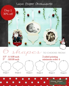 day 1Ornaments